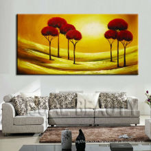 Newest Handmade Abstract Tree Acrylic Painting For Decor