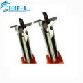 Cortador de cola de milano CNC de carburo de tungsteno BFL para corte de alta velocidad