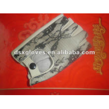 Leather Sport Gloves with cotton lining(DSX-P009)