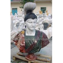 Busto de piedra de la cabeza de la escultura del mármol para la estatua de la estatuilla (SY-S265)