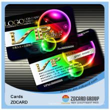 Tarjeta de identificación de tarjeta magnética de PVC Hico / Loco Strip