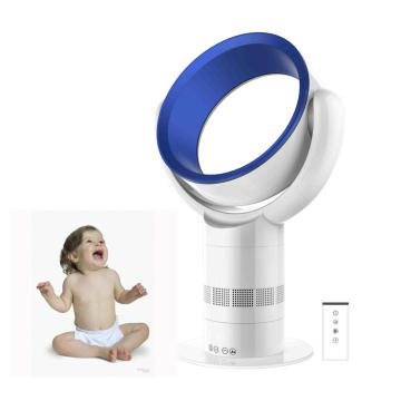 Intelligent ABS Electric Stand Fan Air Cooling Leafless Fan