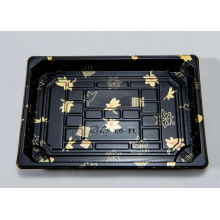 Disposable Printing Plastic Sushi Tray