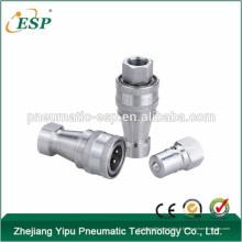 Accouplement rapide pneumatique et hydraulique de type fermé (acier inoxydable)
