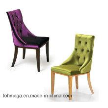 Chaise en cuir de luxe de banquet d'hôtel avec le bouton capitonné Foh-LC16