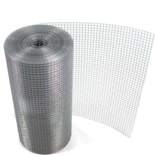 High tensile strength hot-dipped galvanized steel wire 1/2'' welded mesh roll for zoo mesh