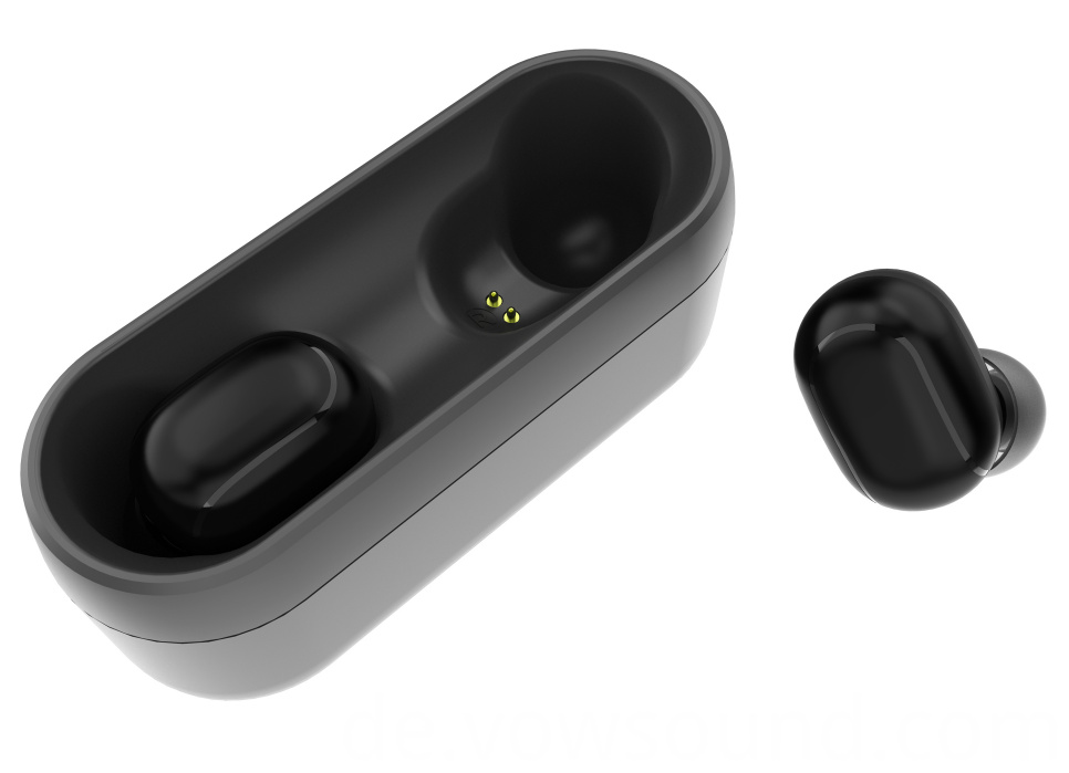 True Wireless Earbuds with Microphones