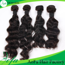Unprocessed 100% Brazilian Virgin Hair Human Remy Hair Extension