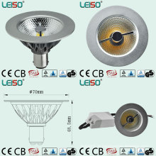7W Scob Ar70 LED Sportlight para Patente Leiso (AR70-A-ED-L)