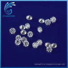 Preço de atacado 1.5mm Rodada Brilhante Corte Moissanite Pedras para Moissanite Anéis