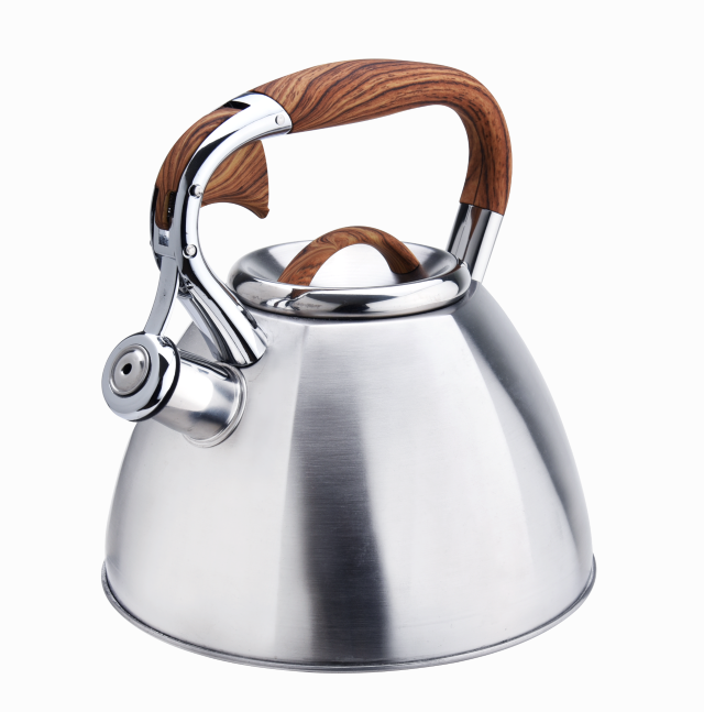 Induction Bottom Wooden Handle Tea Pot 421