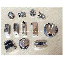 Precio de fábrica Rodillo de acero inoxidable 304 que resbala el rodillo de la puerta para el sitio de ducha