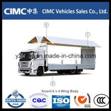 Hyundai Xcient Vc46 6X4 Aluminum Wing Van