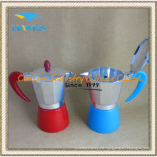 6 tazas de café Espresso de aluminio