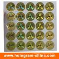 Точка стикер обеспеченностью hologram матрицы с Печатанием экрана
