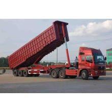 China Supplier 3-Axles Truck Dump Trailer