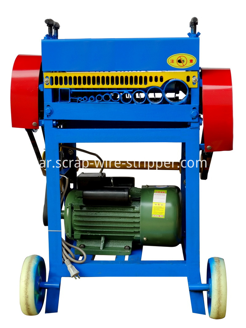 drill operated wire stripping machine