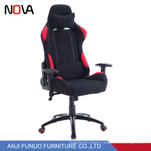 New high tech rocking backrest speeding racing gamer chair with custom colors