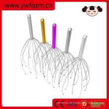 herramientas coloridas del massager de la cabeza del acero inoxidable