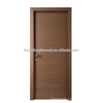 Спроектирован шпоном простой дизайн двер