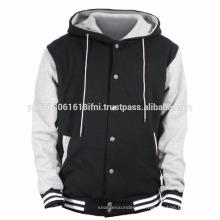 Hoodie varsity jacket fleece custom made