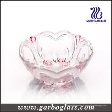 Petit bol en verre en forme de coeur (GB1633XMG-2 / PDS)