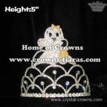 Wholesale Crystal Halloween Ghost Crowns