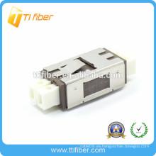 Nuevo MU Adaptador de fibra óptica duplex de un solo modo