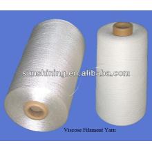 5% de alto glueRayon Filament hilado continuo de hilado de alto pegamento con giro