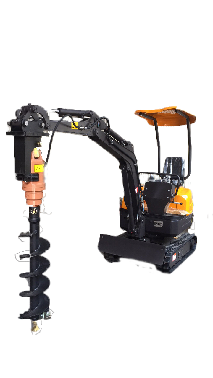 compact power mini excavator