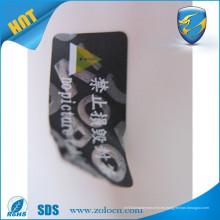 Anulación de la garantía si el sello quebrado / la garantía popular anula las etiquetas engomadas / las etiquetas vacías de la seguridad del animal doméstico