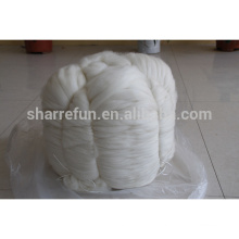 Chinesische Kaschmir-Faser-Oberseiten weiß 15.5-15.8mic / 44mm