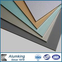 Matériau du panneau mural en aluminium pour la décoration