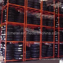 Faltbare und stapelbare Wharehouse Horizontale Lagerung Reifen Rack