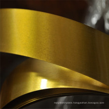 0.30mm Thickness SPCC Golden Lacquered Tinplate Strip