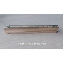 2 Meter 10 Folds German or Swedish Type Birch Wooden Folding Ruler