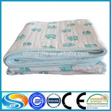 Super macio algodão 3 ply cobertor