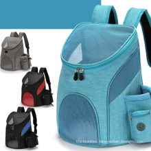 Pet Backpack Foldable Backpack Outing Carrying Bag Spring and Summer Doghouse Outing Bag