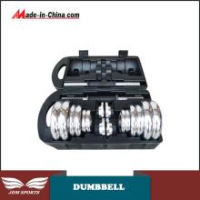 Whole Steel Dumbbell Chrome Steel Dumbbell Steel Adjustable Dumbbell