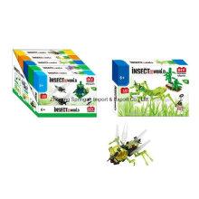 Brinquedo do bloco de edifício do boutique para DIY Insect World-Mantis