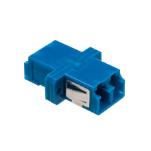 LC/Upc Duplex Fiber Optic Adapter with Flange