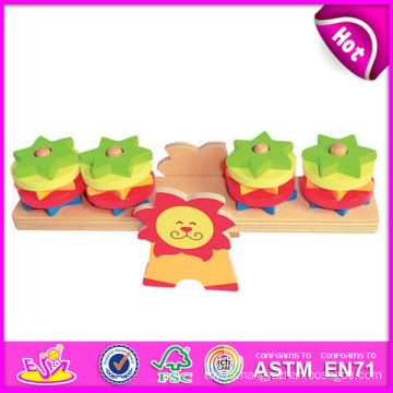 2014 New Colorful Kids Toy Wooden Balance Game, Popular Teach Children Toy Balance Game, Baby Toy Balance Wooden Game Toy W11f019