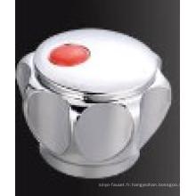 Poignée de robinet en plastique ABS avec finition chromée (JY-3049)