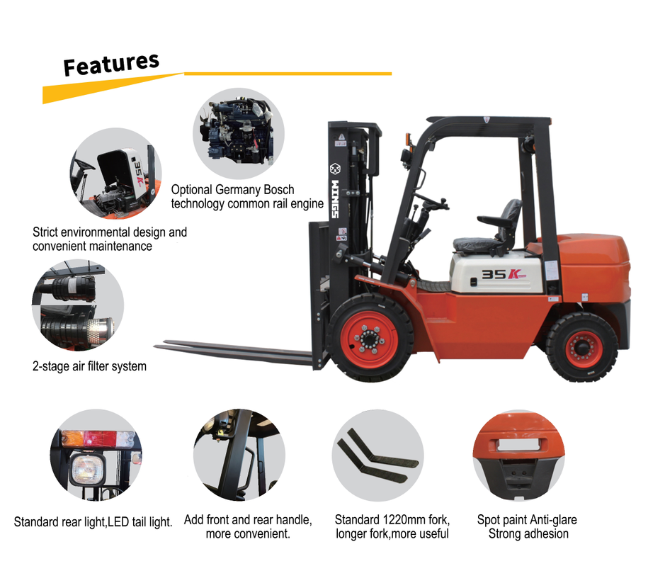 Port Container Forklift