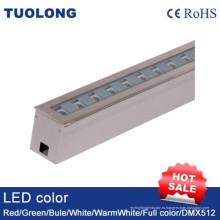 18W Линейный подземный свет Регулируемый напольный земной свет угол луча Регулируемый
