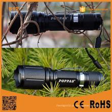 S12 mais poderoso luz LED luz tocha recarregável para caça, polícia, emergência