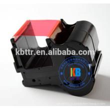 Ruban rouge pour imprimante compatible avec plaque signalétique CNTC cartouche de ruban pour imprimante PP-RC3RDF PP-1080RE 60mm * 130m