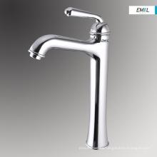 High height bathroom bath mixer taps wash