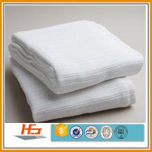 algodão branco térmico tecer tecido cobertor hospital