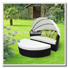 Audu blanco cojín Gazebo Muebles de jardín muebles al aire libre (ADC14088)
